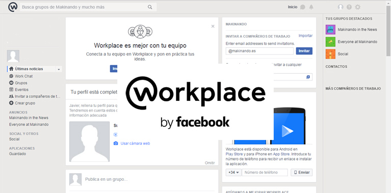 ¿Conoces-Facebook-workplace?